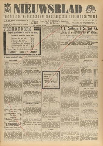 Nieuwsblad het land van Heusden en Altena de Langstraat en de Bommelerwaard 1932-02-19