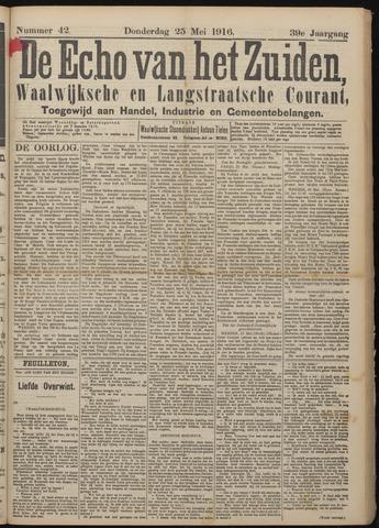 Echo van het Zuiden 1916-05-25