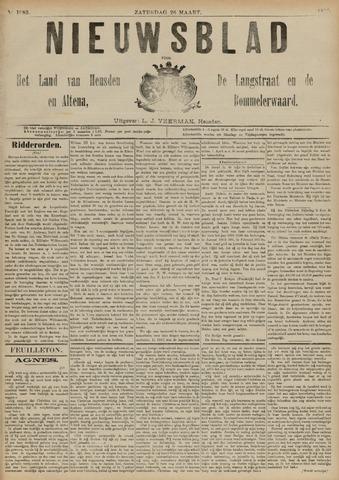 Nieuwsblad het land van Heusden en Altena de Langstraat en de Bommelerwaard 1892-03-26