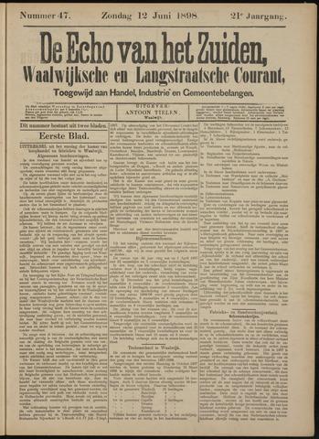 Echo van het Zuiden 1898-06-12
