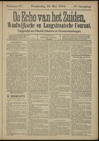 Echo van het Zuiden 1894-05-10