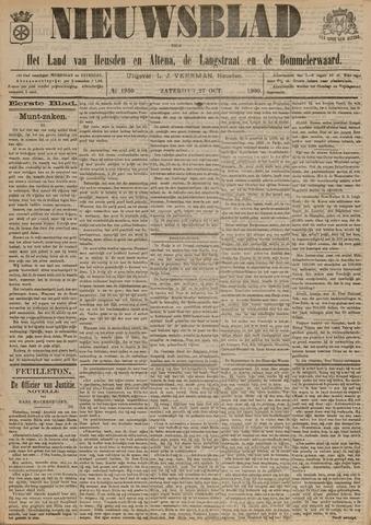 Nieuwsblad het land van Heusden en Altena de Langstraat en de Bommelerwaard 1900-10-27