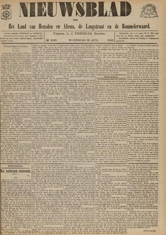 Nieuwsblad het land van Heusden en Altena de Langstraat en de Bommelerwaard 1902-08-20