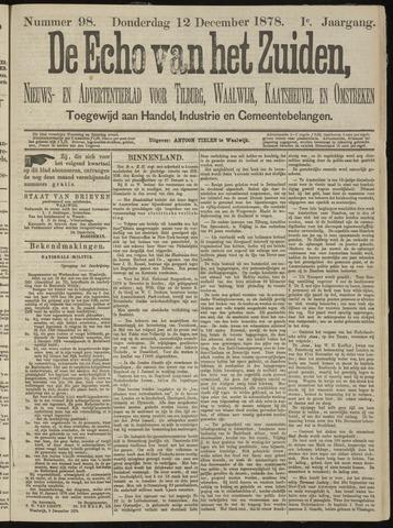 Echo van het Zuiden 1878-12-12