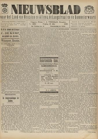Nieuwsblad het land van Heusden en Altena de Langstraat en de Bommelerwaard 1923-05-18