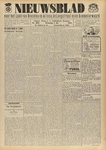 Nieuwsblad het land van Heusden en Altena de Langstraat en de Bommelerwaard 1928-05-02