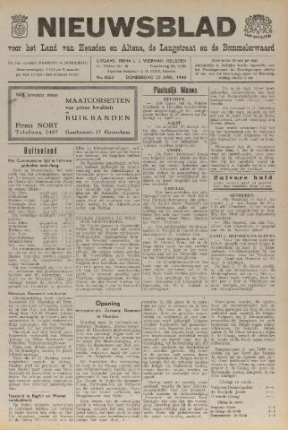 Nieuwsblad het land van Heusden en Altena de Langstraat en de Bommelerwaard 1948-04-22