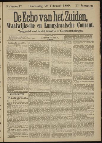 Echo van het Zuiden 1889-02-28