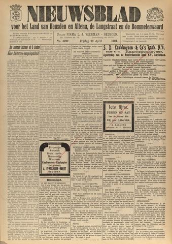 Nieuwsblad het land van Heusden en Altena de Langstraat en de Bommelerwaard 1932-04-29