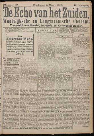 Echo van het Zuiden 1908-03-05