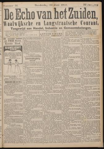Echo van het Zuiden 1909-06-24