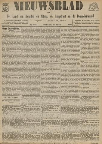 Nieuwsblad het land van Heusden en Altena de Langstraat en de Bommelerwaard 1902-02-22