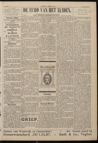 Echo van het Zuiden 1922-02-04