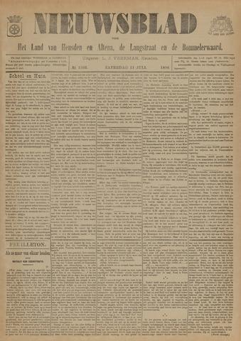Nieuwsblad het land van Heusden en Altena de Langstraat en de Bommelerwaard 1896-07-11