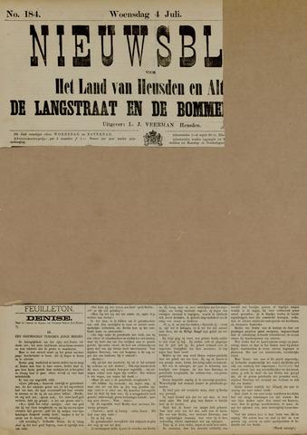 Nieuwsblad het land van Heusden en Altena de Langstraat en de Bommelerwaard 1883-07-04