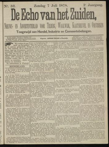 Echo van het Zuiden 1878-07-07