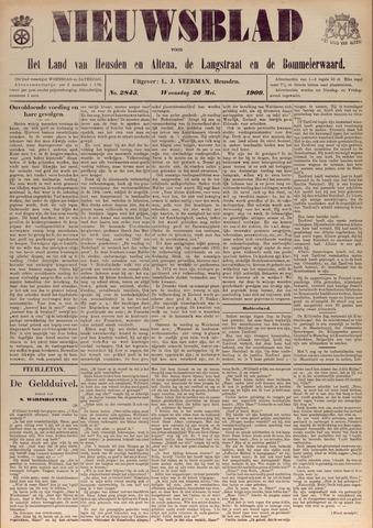 Nieuwsblad het land van Heusden en Altena de Langstraat en de Bommelerwaard 1909-05-26
