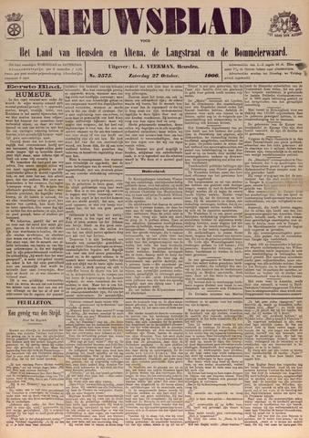 Nieuwsblad het land van Heusden en Altena de Langstraat en de Bommelerwaard 1906-10-27
