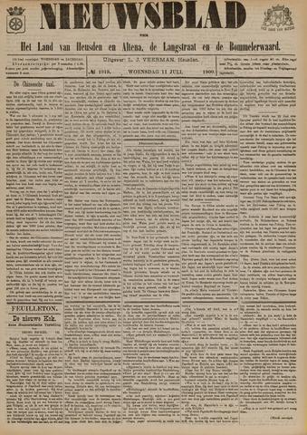 Nieuwsblad het land van Heusden en Altena de Langstraat en de Bommelerwaard 1900-07-11