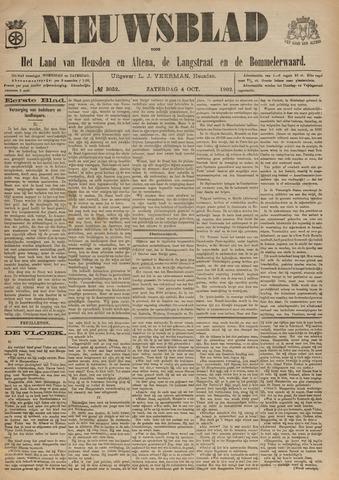 Nieuwsblad het land van Heusden en Altena de Langstraat en de Bommelerwaard 1902-10-04