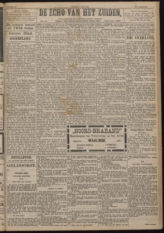 Echo van het Zuiden 1918-06-09
