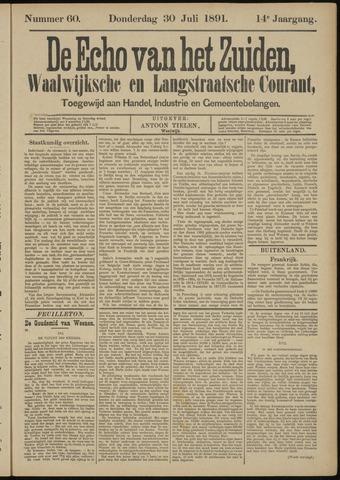 Echo van het Zuiden 1891-07-30