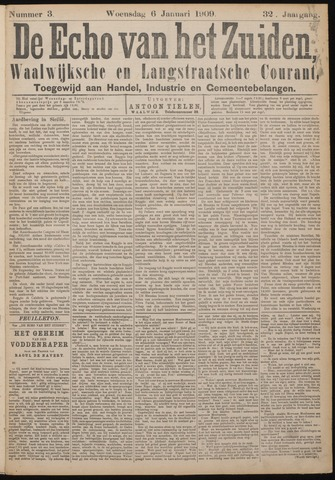 Echo van het Zuiden 1909-01-06