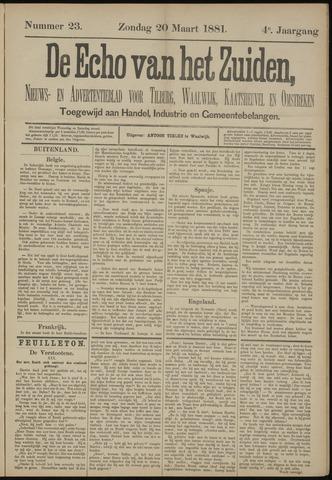Echo van het Zuiden 1881-03-20
