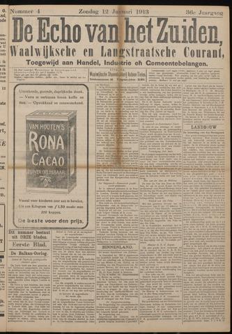 Echo van het Zuiden 1913-01-12