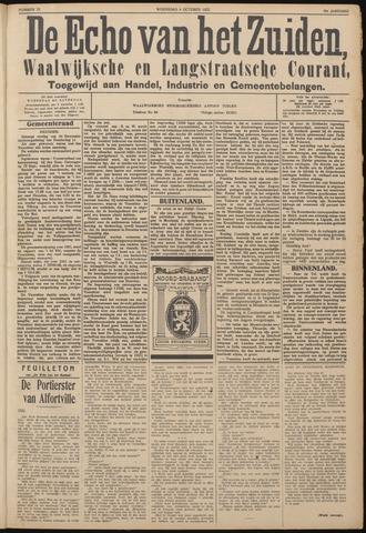 Echo van het Zuiden 1922-10-04