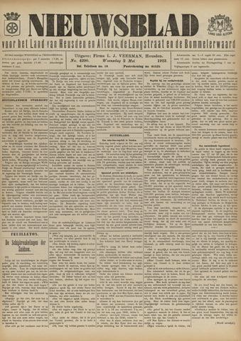 Nieuwsblad het land van Heusden en Altena de Langstraat en de Bommelerwaard 1923-05-02