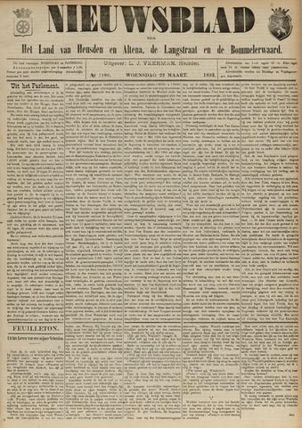 Nieuwsblad het land van Heusden en Altena de Langstraat en de Bommelerwaard 1893-03-22