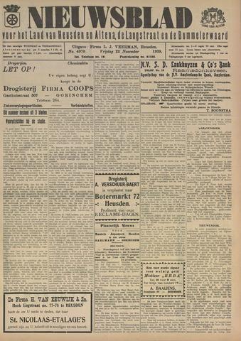 Nieuwsblad het land van Heusden en Altena de Langstraat en de Bommelerwaard 1929-11-22
