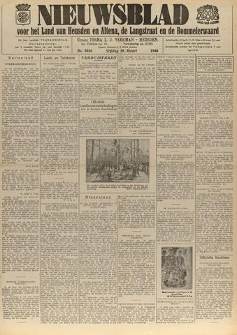 Nieuwsblad het land van Heusden en Altena de Langstraat en de Bommelerwaard 1943-03-26