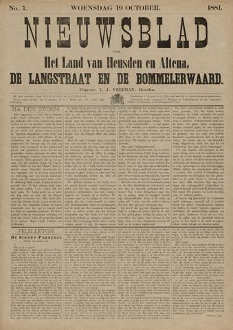 Nieuwsblad het land van Heusden en Altena de Langstraat en de Bommelerwaard 1881-10-19