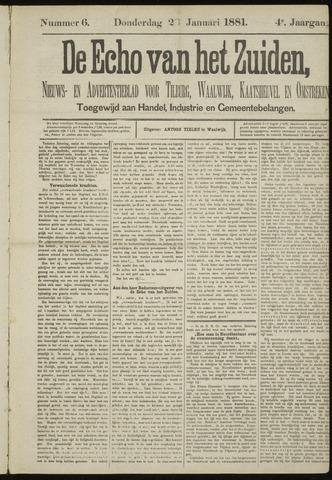 Echo van het Zuiden 1881-01-20