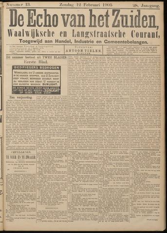 Echo van het Zuiden 1905-02-12