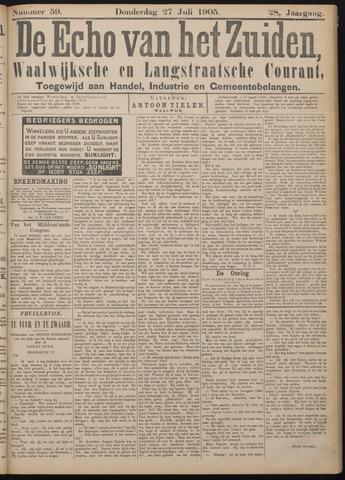 Echo van het Zuiden 1905-07-27