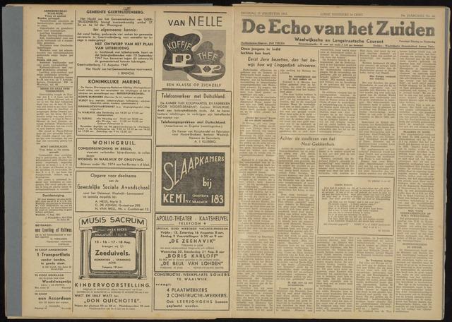 Echo van het Zuiden 1947-08-19