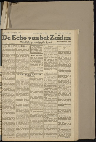Echo van het Zuiden 1945-10-08