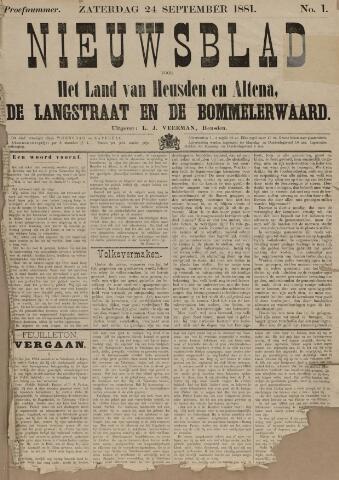 Nieuwsblad het land van Heusden en Altena de Langstraat en de Bommelerwaard 1881-09-24