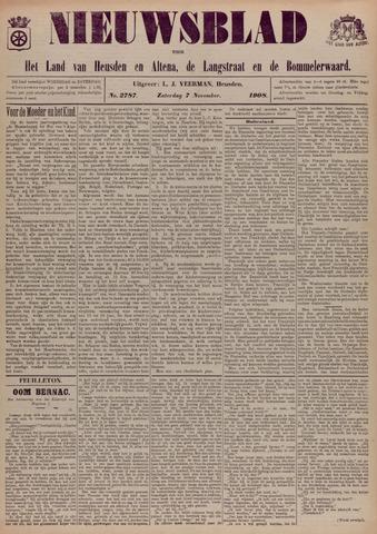 Nieuwsblad het land van Heusden en Altena de Langstraat en de Bommelerwaard 1908-11-07