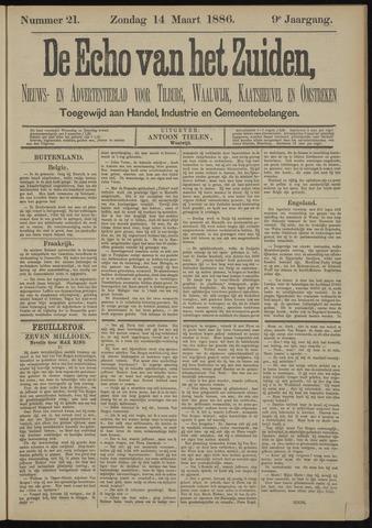 Echo van het Zuiden 1886-03-14