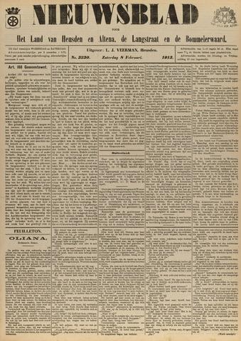Nieuwsblad het land van Heusden en Altena de Langstraat en de Bommelerwaard 1913-02-08