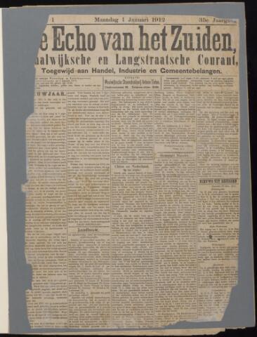 Echo van het Zuiden 1912-01-01