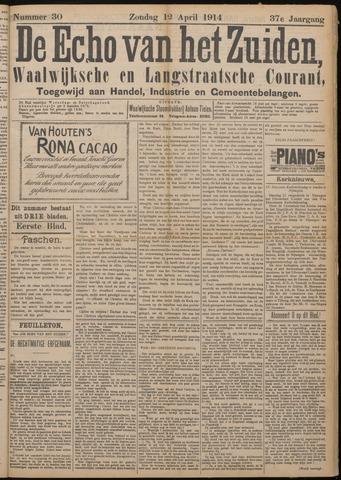Echo van het Zuiden 1914-04-12