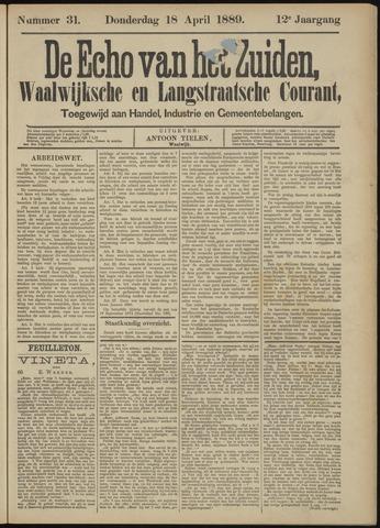 Echo van het Zuiden 1889-04-18