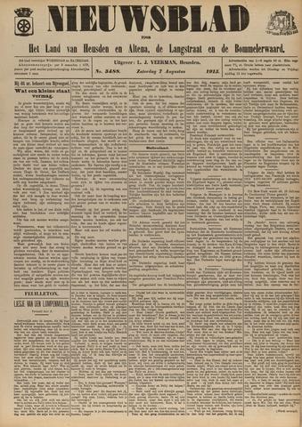 Nieuwsblad het land van Heusden en Altena de Langstraat en de Bommelerwaard 1915-08-07