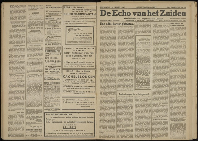 Echo van het Zuiden 1947-03-20