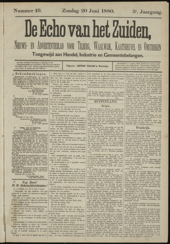 Echo van het Zuiden 1880-06-20